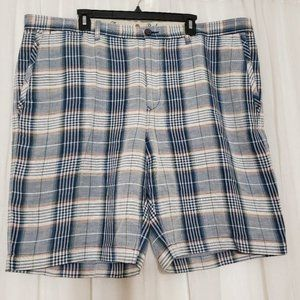 Men's Tommy Bahama Plaid Golf Shorts Linen Tencel Lyocell  Size 42